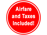 Airfare and Taxes Included