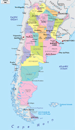 Argentina Travel Vacation Guide Argentina Overview Argentina - Argentina map small