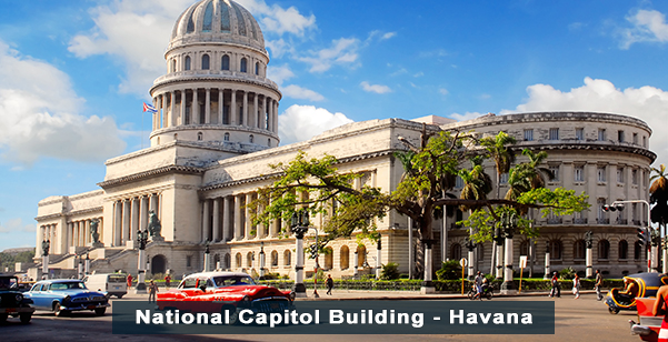 National Capitol Building - Havana