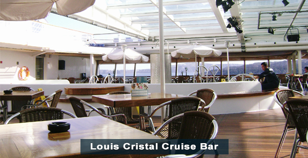 Louis Cristal Cruise Bar