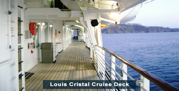 Louis Cristal Cruise Deck