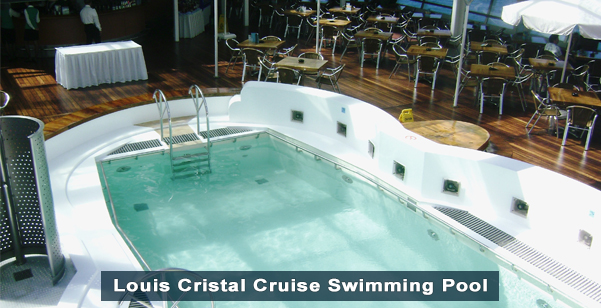 Louis Cristal Cruise Swimming Pool
