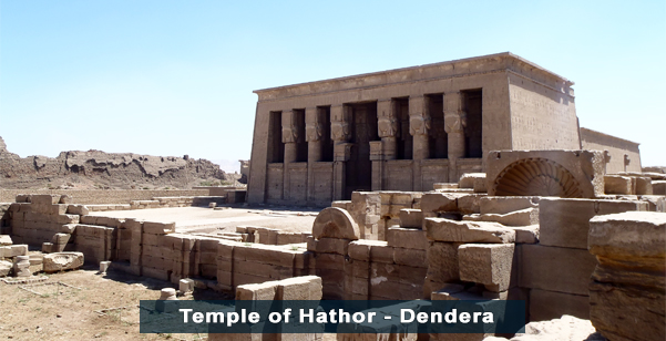 Temple of Hathor - Dendera
