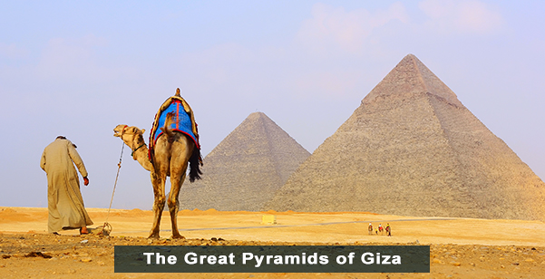 The Great Pyramids of Giza 1
