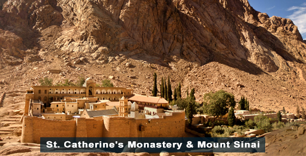 St. Catherines Monastery and Mount Sinai